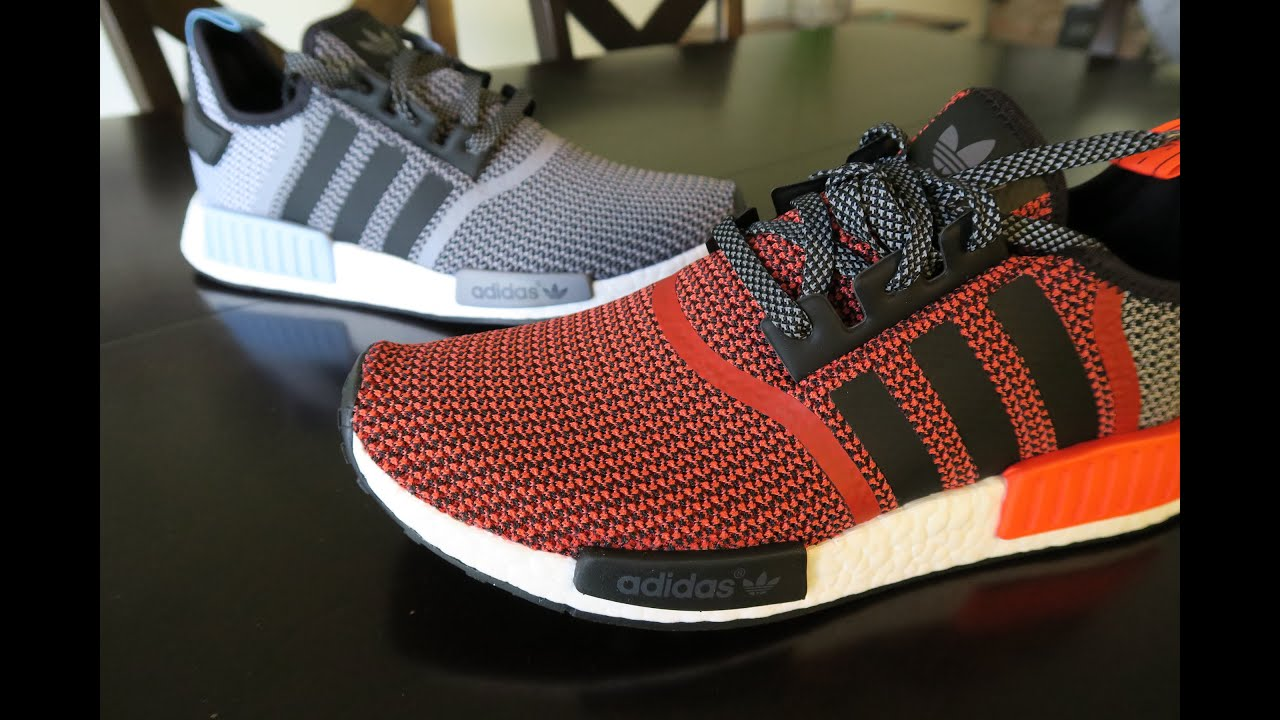 d227cd5cb Adidas NMD R1 Knit - YouTube