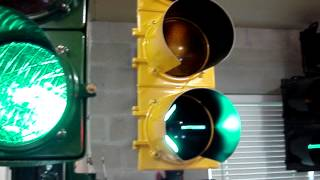 my traffic signal collection a trip around the garage