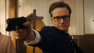 """Cцена в церкви из фильма """"Kingsman: Секретная служба"""" (2014)"""