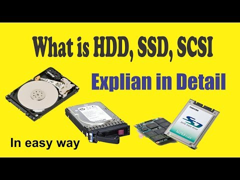 [Hindi] HDD vs SSD vs SSHD vs SCSI | What are the type of hard drives | By irfantalk