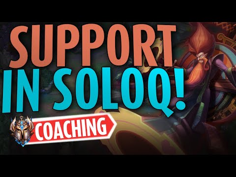 Teaching Support in SOLO-Q.. But it's actually not a bad role – Challenger Lol Coaching