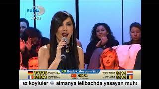 Hande Yener'den Okan Bayülgen'e  Canlı Yayında Büyük Kapak ! Video