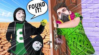 HACKERS FOUND OUR SAFEHOUSE!? SPY NINJA SECRET REVEALED? red ninja mr hacker #DE Roblox Piggy