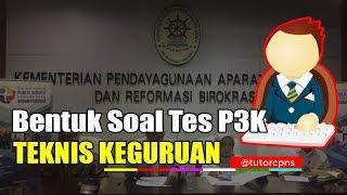 Contoh Soal Tes Kompetensi Teknis Pppk P3k 2019 Yessehat Com