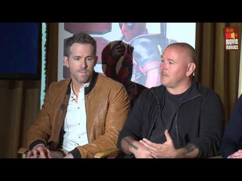 Deadpool | full Blu-Ray press conference (2016) Marvel Ryan Reynolds