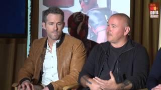 Deadpool | full Blu-Ray press conference (2016) Marvel Ryan Reynolds