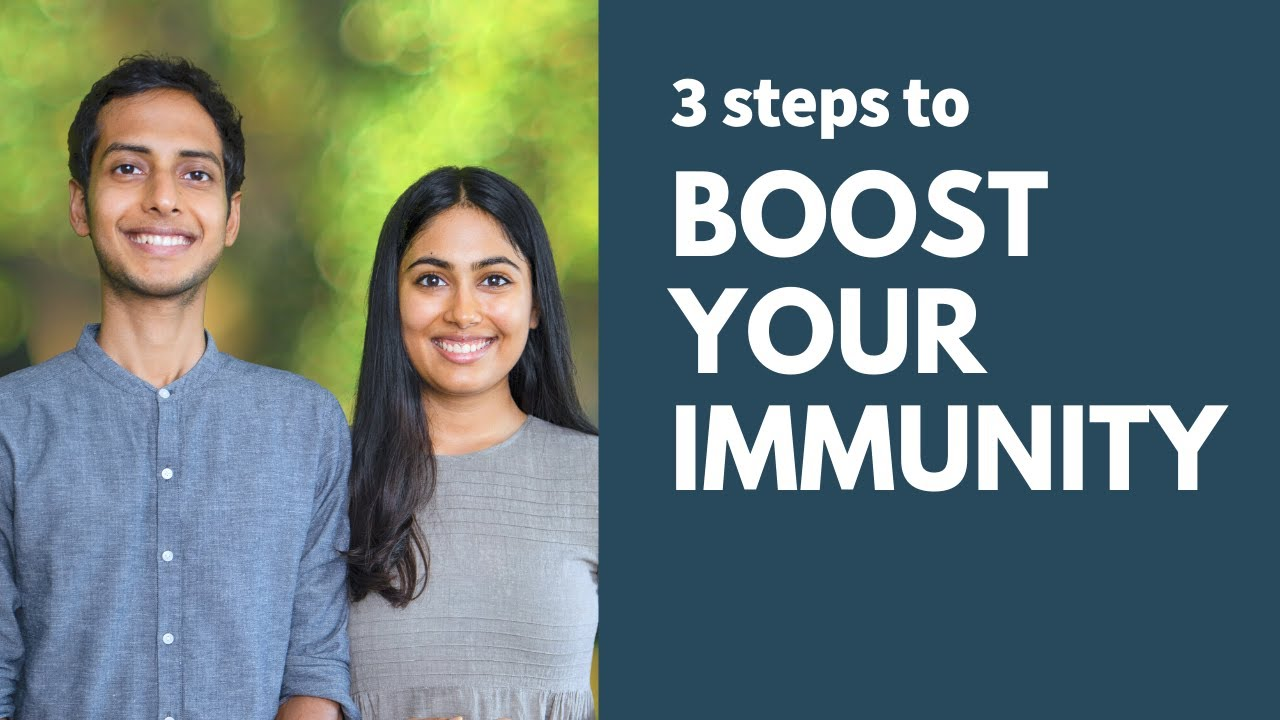 Boost Your Immunity in 3 Steps + Find Out Your Immunity Score!