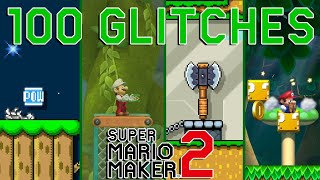 100 Glitches Compilation in Super Mario Maker 2