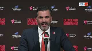 New Browns head coach Kevin Stefanski full introductory press conference