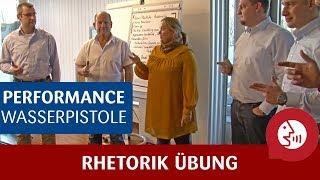 Rhetorik-Übung - So optimierst du deine Performance