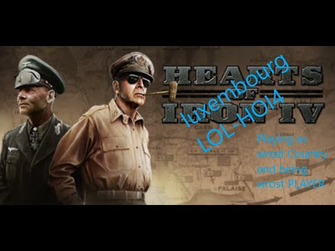 HOI4 EP 1(Playing as luxembourg) Being the Worst Player ever |