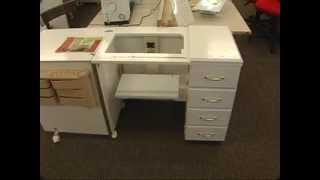 Sewing Machine Cabinets - Bernina Stylish Fabrics