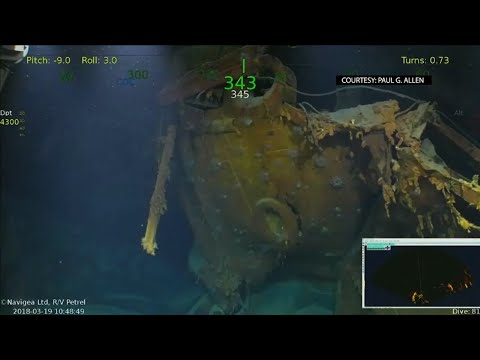 Crew Finds USS Juneau of Sullivan Brothers Fame