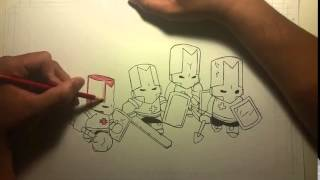 Castle Crashers- speed drawing