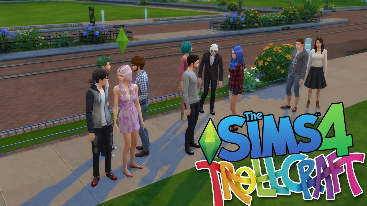the sims 4 trollcraft edition create a sim youtube