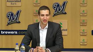 Brewers season-ending press conference