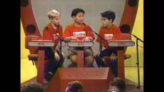 Kidquiz 1992 Championship - Camino Grove vs. Royal Oak (Part 1)