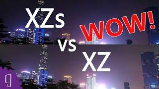 Sony Xperia XZs vs XZ Rear Camera Comparison   Low light photo   Night video