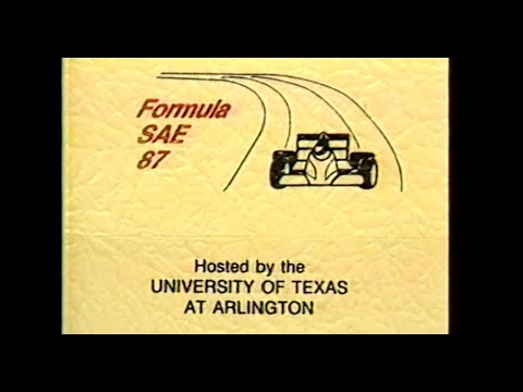 Download 1987 Formula SAE Competition Hosted at university of Texas at Arlington