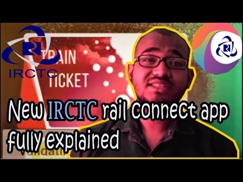 || IRCTC Launches New App for Faster Train Ticket Bookings - Book Train & Flight Ticket & Rail Meal