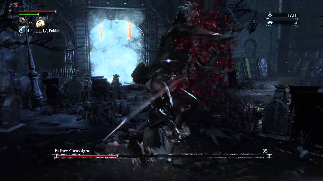 Bloodborne - Father Gascoigne - YouTube