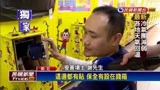 狡詐!撬壞3娃娃機投幣口 賊撈錢箱得手萬元-民視新聞