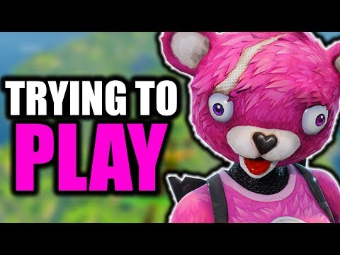 Trying to Play Fortnite