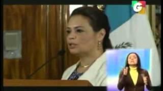 19 abril gtv 9pm sinibaldi renuncia al pp vicepresidenta roxana baldetti da conferencia de prensa