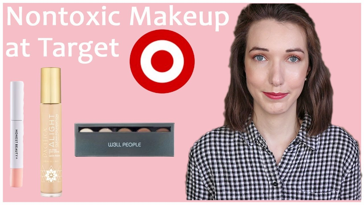 Full Face of Nontoxic Makeup from Target