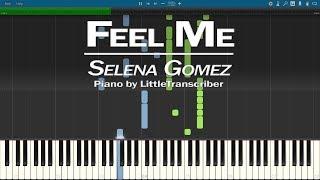 Selena gomez - feel me (piano cover) synthesia tutorial by littletranscriber