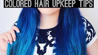 Colored Hair Upkeep Tips Thumbnail