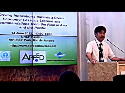 Driving Innovations towards a Green Economy at Rio+20 (FULL)