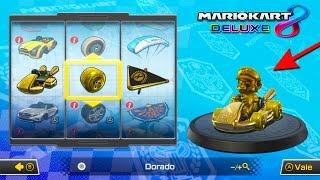 CÓMO CONSEGUIR LAS PIEZAS DE ORO EN MARIO KART 8 DELUXE | SECRETO | Nintendo Switch