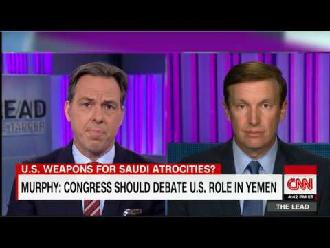 Sen. Chris Murphy talking about U.S. support for Saudi atrocities in Yemen