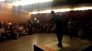 Gangster vs Daniel Leveille Semifinal All Styles Battle at Tap Dance Festival 2015 Sweden