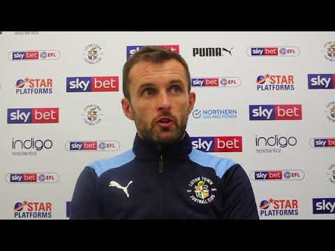 Nathan Jones on the 11 draw with Sunderland