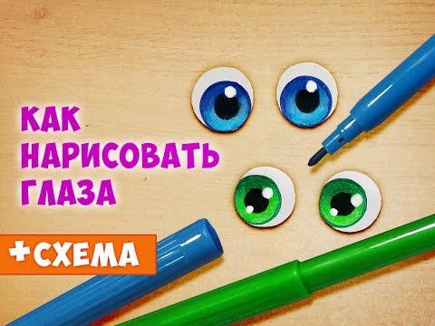 видео: Как нарисовать глаза. Урок по просьбе подписчиков! :)