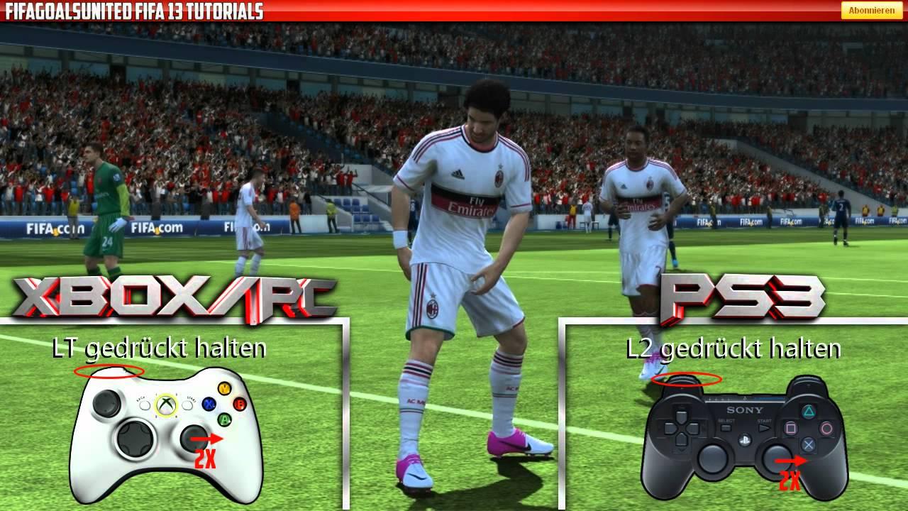 Fifa 13 skills tutorial keyboard part 1 youtube.