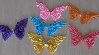 Оригами Бабочка из Бумаги Своими Руками