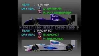 スーパーF1サーカス 3 (スーパーファミコン、1994年7月15日発売) クリ...