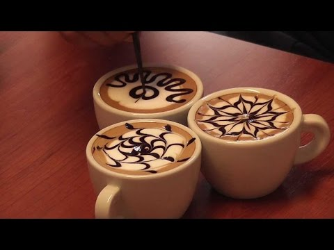 Kahveler Nasıl Süslenir? Latte Art ve Ucuz Barista Kalemi Yapımı