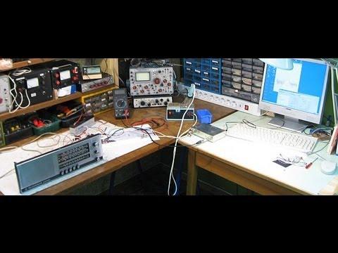 Wobbeln einer AM-ZF mit dem Netzwerktester (NWT)