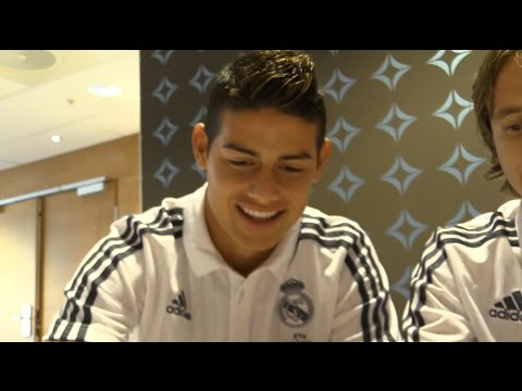 Meet & Greet with Real Madrid players Oslo