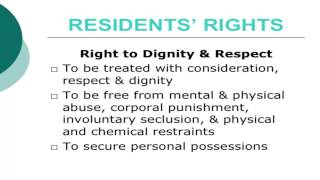 A W A R E  presents Patient and Residents Rights