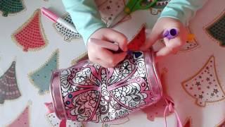 Сумка-косметичка Color me mine Бриллиантовая вечеринка Simba обзор, распаковка и раскраска diy