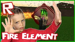 Fire Element is The BEST / Roblox Elemental Wars