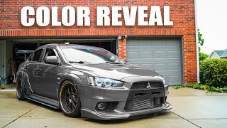 homepage tile video photo for EVO X V3 COLOR REVEAL!