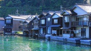 JG 4K 京都 伊根 舟屋の街並(重伝建) Kyoto,Ine Funaya(Historic District)