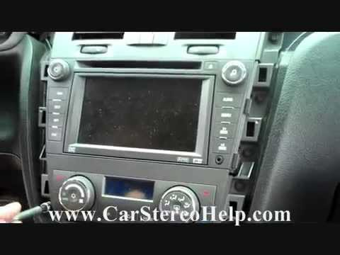 hqdefault how to cadillac dts bose stereo removal 2006 2011 youtube  at gsmx.co