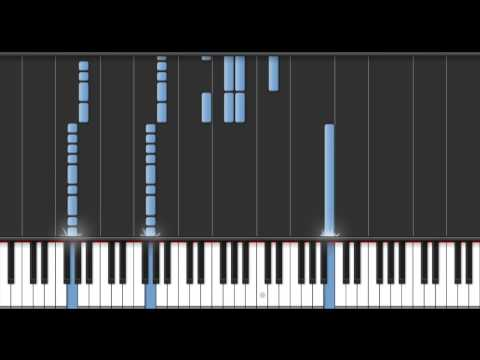 Re:member  Flow  Naruto Opening 8  Piano Tutorial